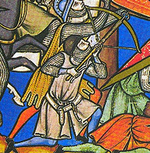 Armbr., ~1245-50, Maciejowski-Bibel.  1c
