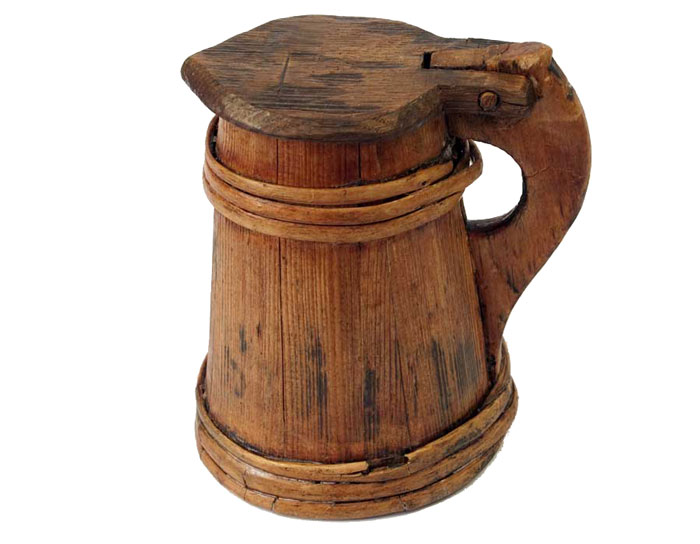cook-woodentankard