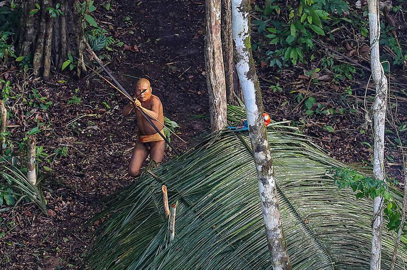 Aerial-photographs-of-an-isolated-tribe-in-the-Brazilian-rain-forest